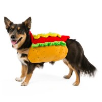Hot dog costume ($7-$10) | Miley Cyrus's Dogs in Halloween ...