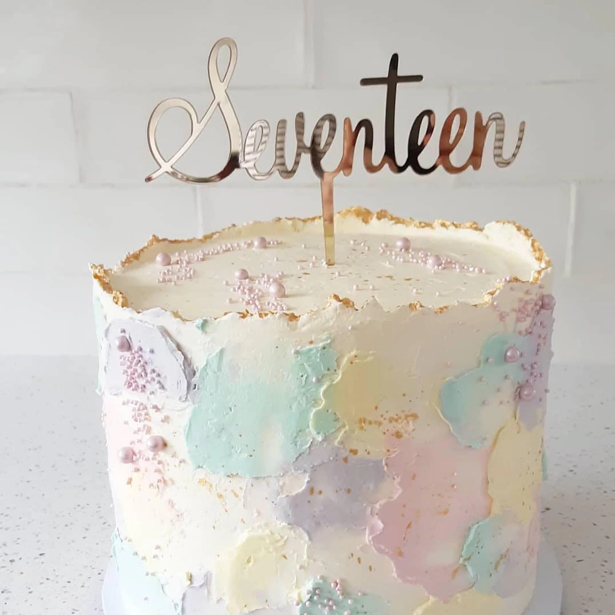 17th Birthday Cake Ideas Popsugar Family