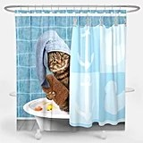 shower curtains are so weird