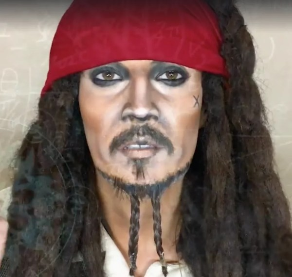 Johnny Depp Captain Jack Sparrow Marina Mamic