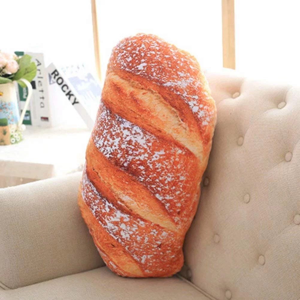bread loaf body pillow on amazon
