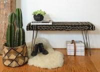Upholstered Bench DIY | POPSUGAR Home