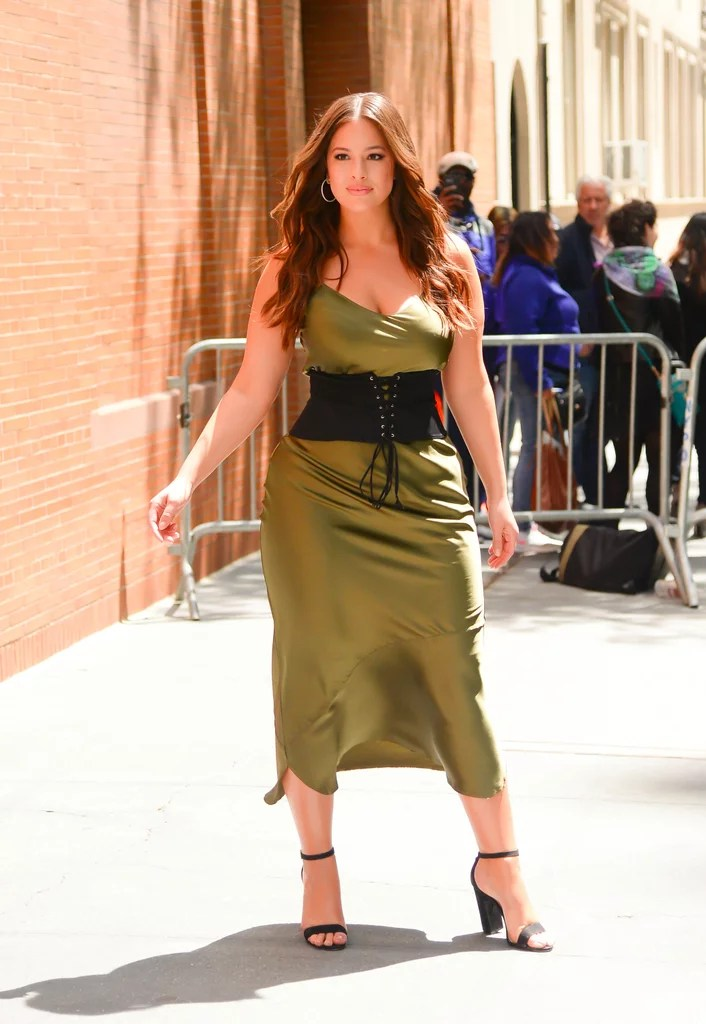 Ashley Graham Wearing a Corset  POPSUGAR Fashion Australia