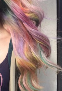 Fabulous Fade | Sand Art Rainbow Hair Color | POPSUGAR ...