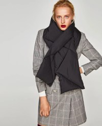Zara Quilted Scarf (20) | Where Can I Buy a Quilted ...