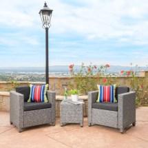 Puerta Wicker Club Chair Set Target Outdoor