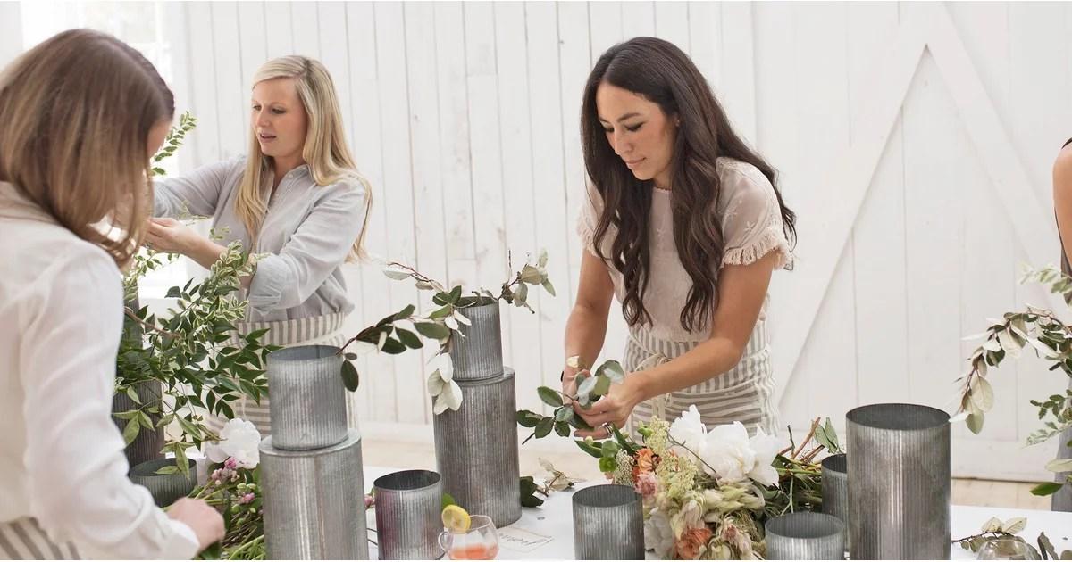 Joanna Gainess Flower Arranging Tips POPSUGAR Home