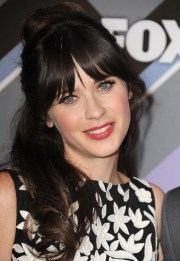 zooey deschanel hair & beauty