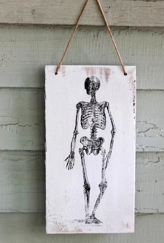 Vintage Skeleton Hanger