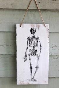 Vintage Skeleton Hanger | Halloween Door Decor | POPSUGAR ...
