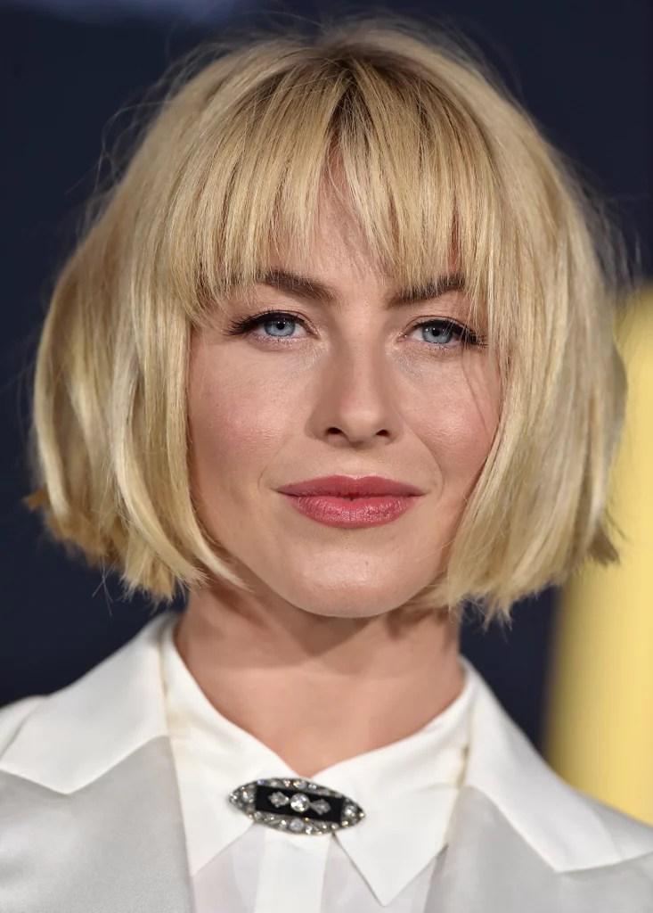 Julianne Houghs Bob Hair September 2018 POPSUGAR Beauty