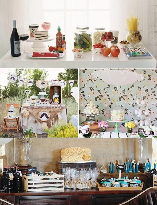 Baby Shower Dessert Table : shower, dessert, table, Dessert, Tables, Showers, POPSUGAR, Family