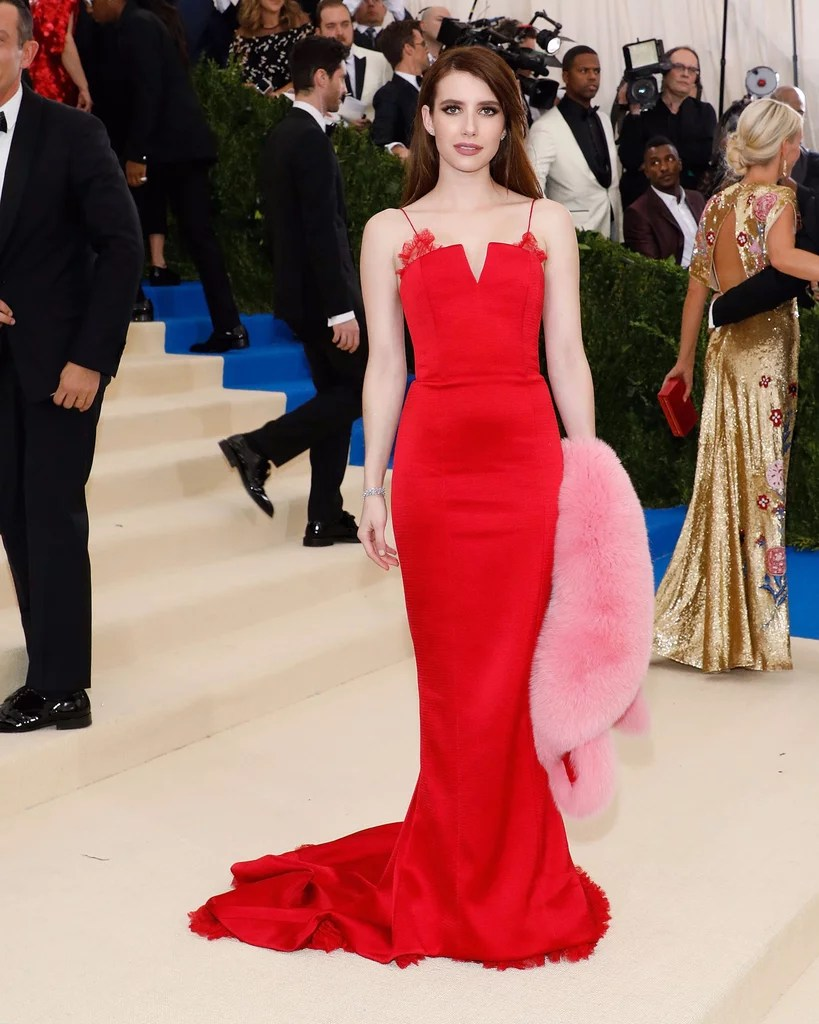 Red Dresses at the Met Gala 2017