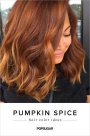 pumpkin spice hair color trend