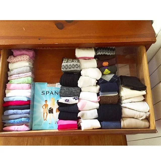 Rethink How to Store Small Items  Proof That Marie Kondos KonMari Method Works  POPSUGAR Home