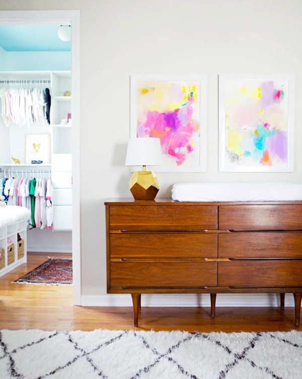Dynamic Art Style Nursery 'll Love Much Baby Popsugar Home