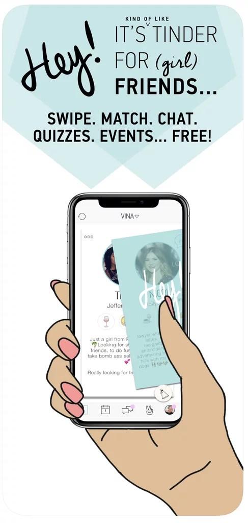 Hey! Vina | Best Apps For Making Friends | POPSUGAR Tech Photo 5
