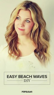 easy wedding beach waves hair tutorial
