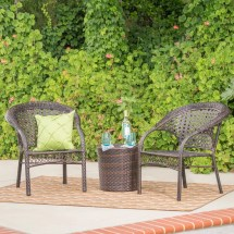 Hamburg Wicker Chat Set Target Outdoor Furniture