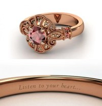 Red garnet Pocahontas Engagement Ring ($1,125) | Disney ...