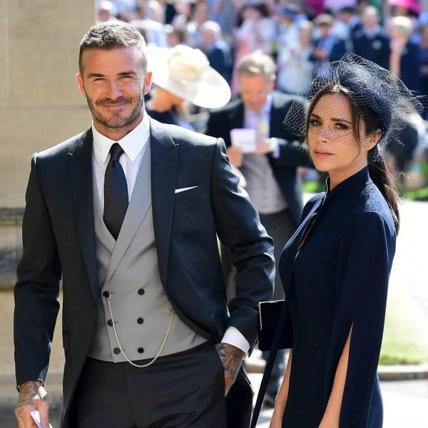 David Beckham Royal Wedding Outfit