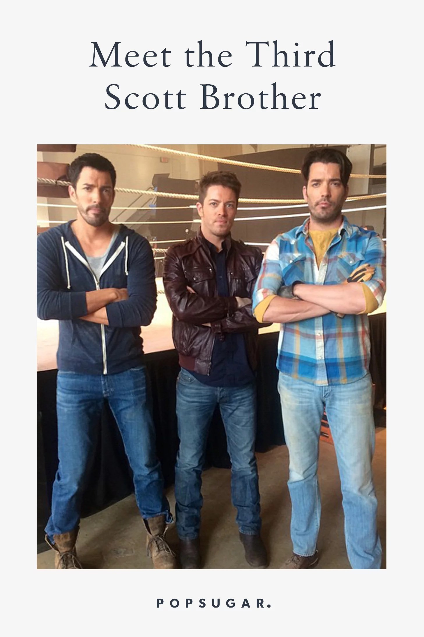 How Tall Are The Scott Brothers : scott, brothers, Third, Scott, Brother?, POPSUGAR