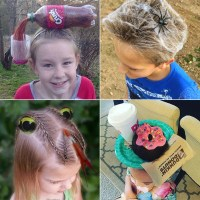 Crazy Hair Day Ideas | POPSUGAR Moms
