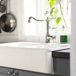Kitchen Sink And Faucet Build An Outdoor Farmhouse-style | Ikea Farmhouse Style ...