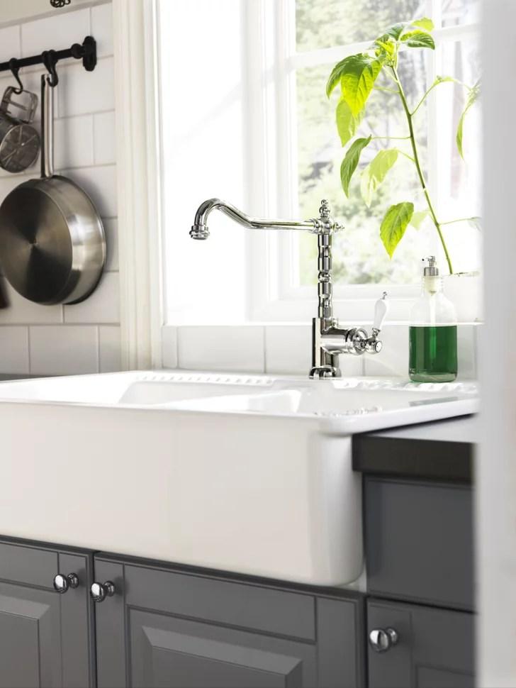 ikea faucet kitchen remodling farmhouse-style | farmhouse style ...
