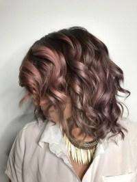 Chocolate Mauve Hair Color Trend | POPSUGAR Beauty UK