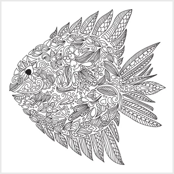 free detailed coloring pages # 11