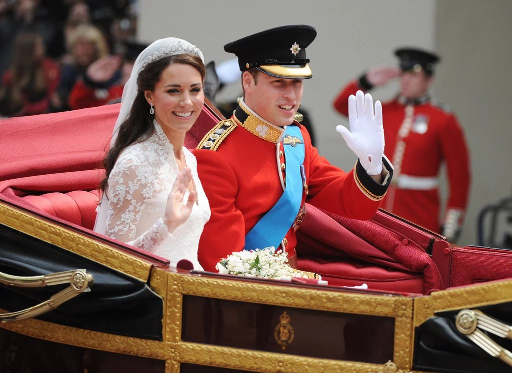 Celebrities at Kate Middleton and Prince Williams Wedding