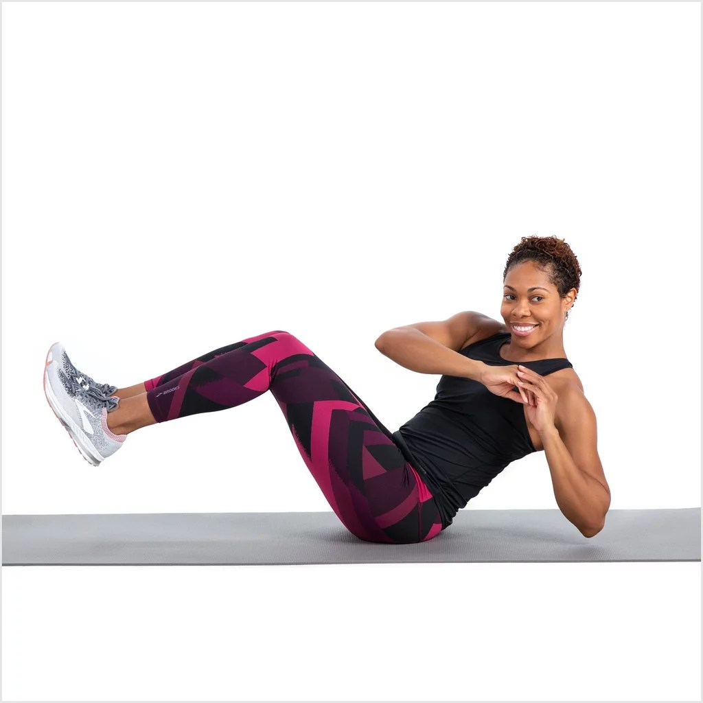 10 Minute Core And Abs Workout