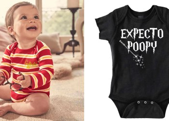 Accio, Pockets! These Adorable Onesies Will Put Your Baby on the Fast Track to Hogwarts