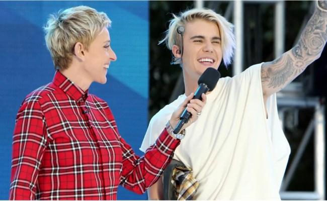 Justin Bieber Performs Sorry On Ellen November 2015