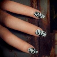Spiderweb Nail Art | POPSUGAR Beauty