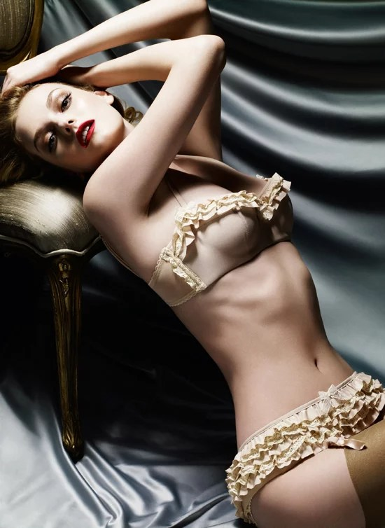 Photo of Model Lydia Hearst as New Face and Body of Myla