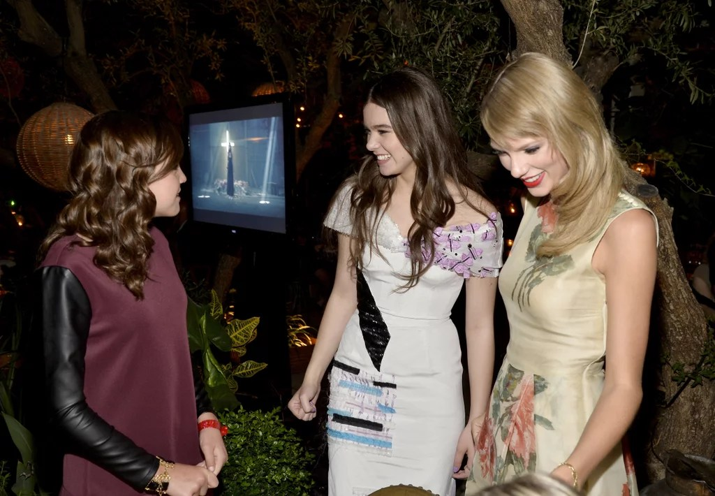 Bailee Madison Chatted With Hailee Steinfeld And Taylor