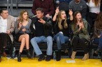 And Nailed Courtside Style | Who Is Sistine Stallone ...