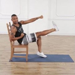 Chair Exercises For Abs Wooden Rocking Child With Shaun T Popsugar Fitness