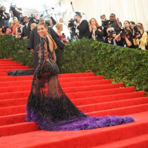 Beyoncé's Givenchy Met Gala Dress, 2012