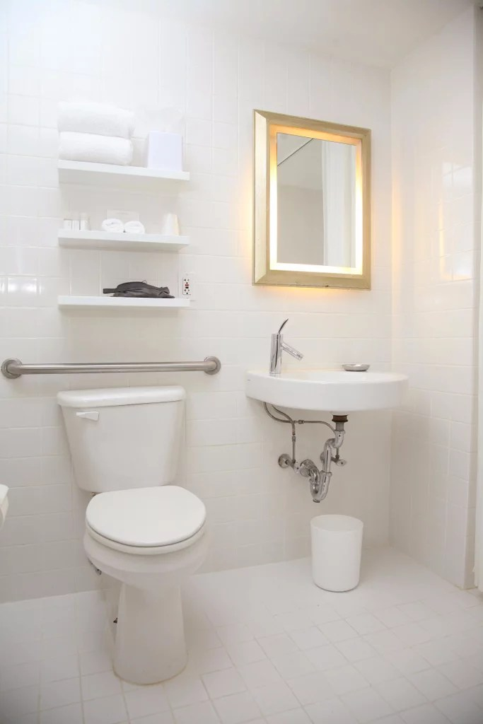 How To Make A Small Bathroom Feel Larger  Popsugar Home