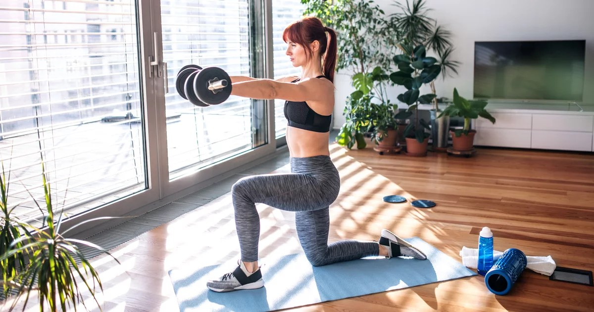 Pro Tips For Preventing Strength-Training Injuries During At-Home Workouts