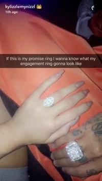 Kylie Jenner's Promise Ring