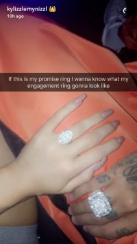 Kylie Jenner's Promise Ring | POPSUGAR Fashion Photo 1