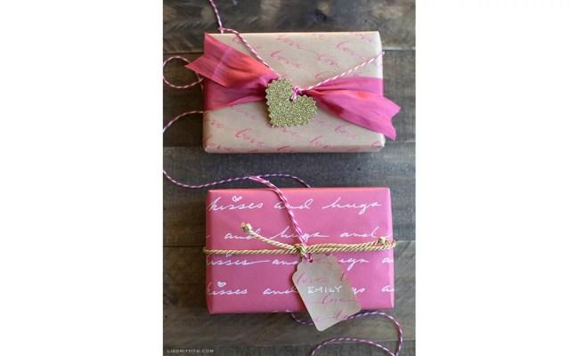 Love Letter Gift Wrap Diy Gift Wrap Popsugar Smart
