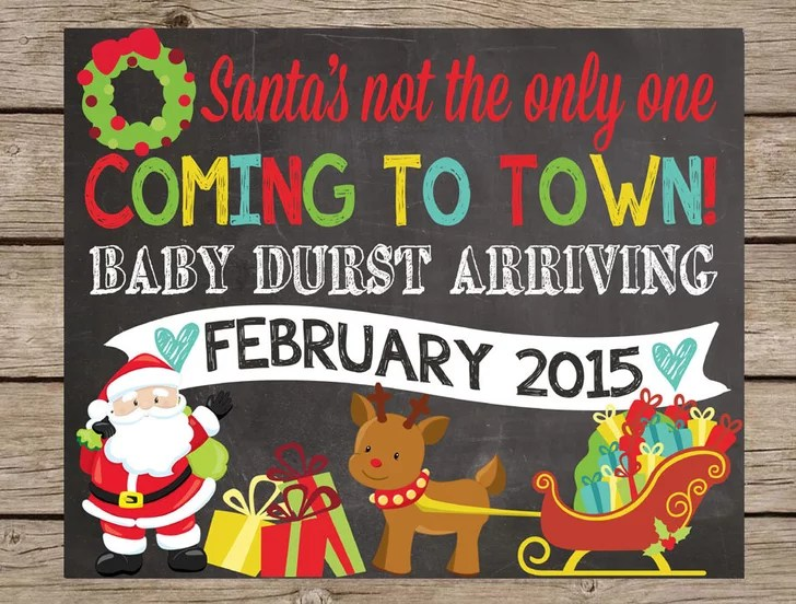 Santas Not The Only One Coming To Town Card Cute