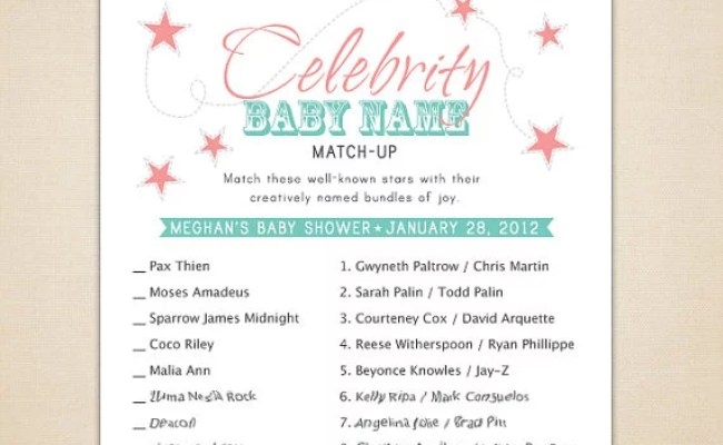 Best Tasteful Baby Shower Games Popsugar Moms