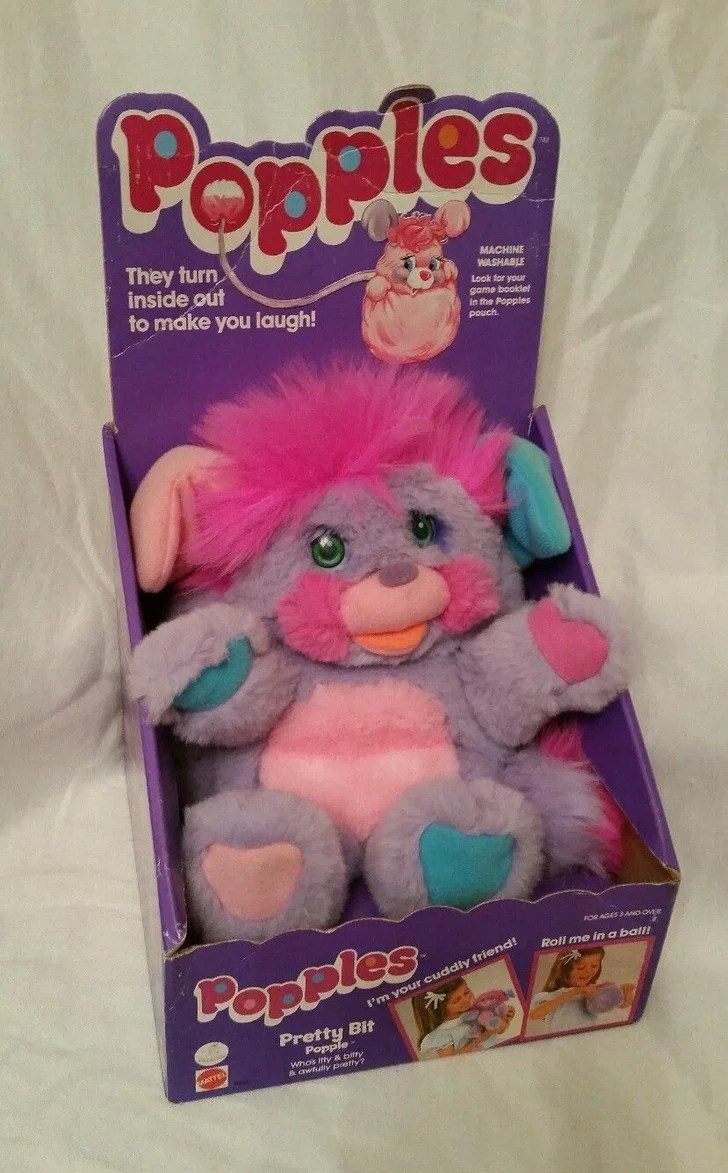Popples  90s Toys That Are Worth a Lot of Money