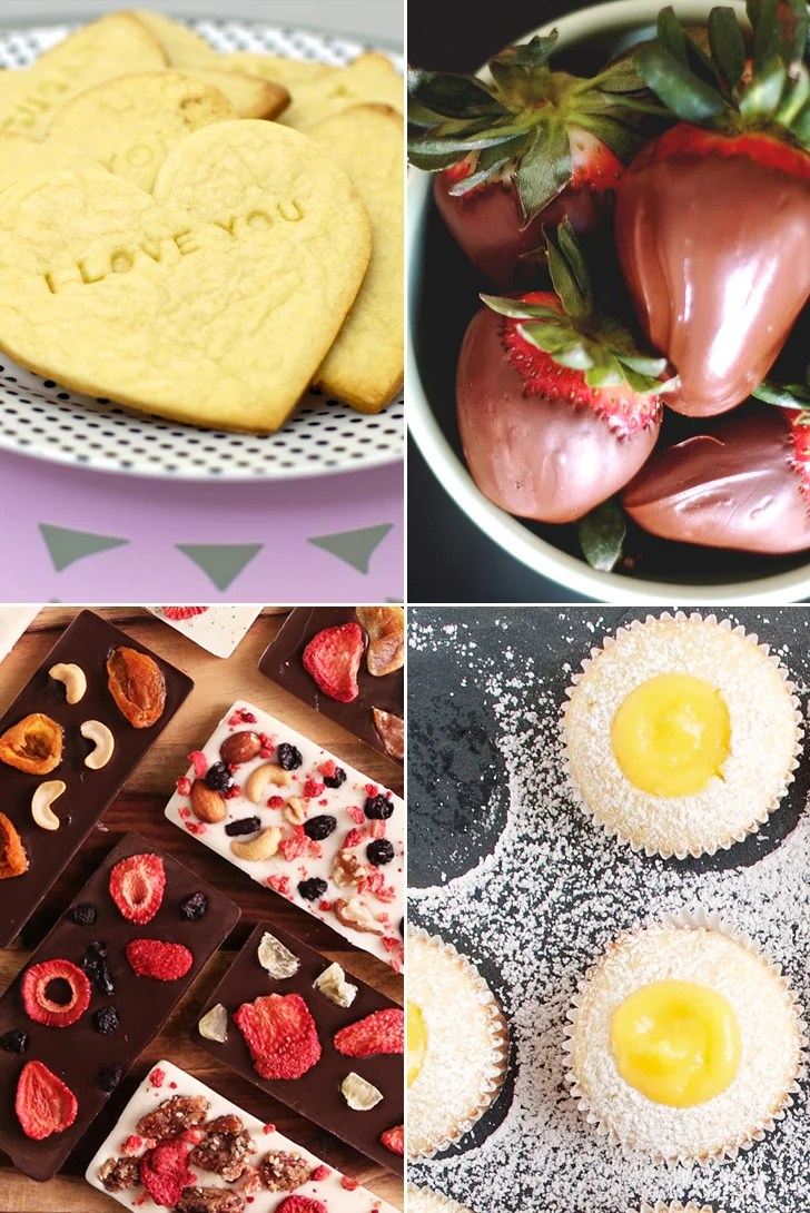 Diy Valentine S Day Edible Gifts For Her Popsugar Food